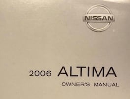 2006 Nissan owners manuals