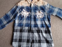 Flannel blue and grey custom  Alsip, 60803