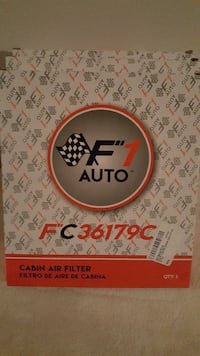 F1 Aut o FC361179C cabin air filter box Toronto