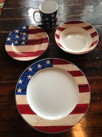 Full 8 set of Americana China  Herndon, 20170