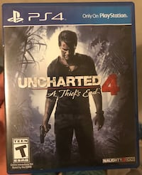 Uncharted 4 PS4  37 km