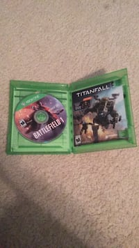two Xbox One game cases Centreville, 20120