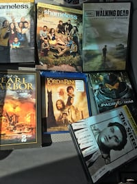 seven assorted movie cases Centreville, 21617