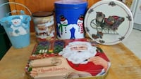 5 Christmas themed tins London, N6H 4A8