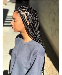 Cheap box braids/ single braids Toronto, M1E 4C9