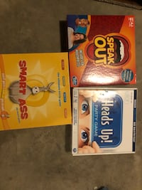 Family Board games 3 for 10