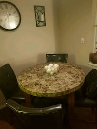 Marble Dining room table set  Tampa, 33613
