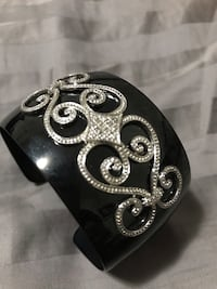 Real diamond cuff