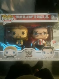 funko pop wwe million dollar man and irs Philadelphia, 19148
