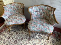 Exquisite Pair of Vintage Fireside Chairs Baltimore, 21205