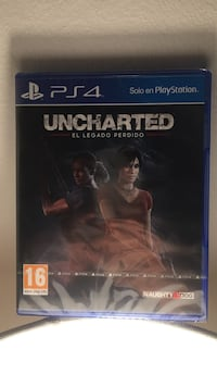 Funda de juego Sony PS4 Uncharted 4