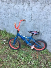 toddler's blue and red bicycle Abbotsford, V2T 2H3