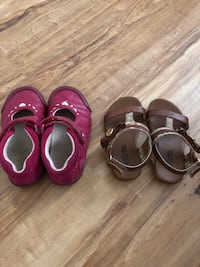4 pair girl shoes size 6,61/2 n 7 elena shoes brand new Rome, 30161