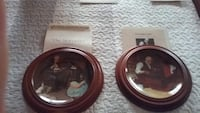 Norman Rockwell Plates with Frames Hamilton, L9C 7S2