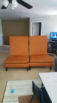 brown wooden framed brown padded couch North Las Vegas, 89084