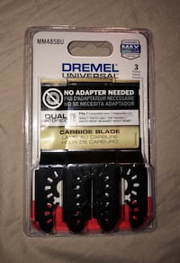 "Dremel Multi-Max 1-1/2"" Oscillating Tool Carbide Flush Cutting Blades"