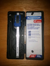 Mastercraft electronic caliper with fractional digital display St. Albert, T8N 1A6
