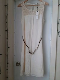 *NEW WITH TAGS* beige or cream dress by Only Vancouver