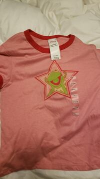 Kermit red children's xxl shirt North Stonington