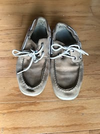 pair of brown boat shoes Austell, 30168