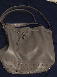 grey two way tote bag leather Toronto, M4K 3R7