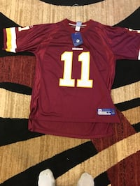red and white Redskins 11 jersey shirt Gaithersburg, 20877
