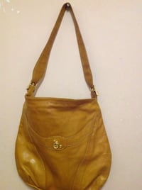 women's brown leather sling bag SF, 94123
