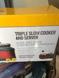 Triple slow cooker Diberville, 39540