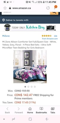 Queen comforter set  St. Catharines