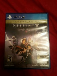Destiny The Taken King PS4 game case Chester