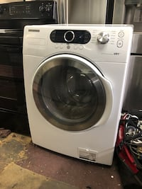 white Samsung front-load clothes washer New York, 10469