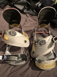 Bent Metal snowboard bindings  sz M/L Burnaby, V5G 3X4