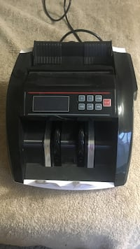 black currency counting machine
