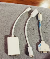 Apple usb cable & Display port with adapter Secaucus, 07094