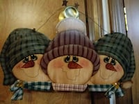 Wood Snowmen Wall Hanging Newark, 43055