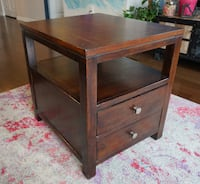 Solid wood end table Rockville