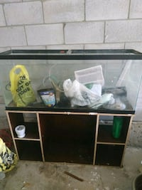 55 Gallon Aquarium with hob filter heater and stand Vaughan, L4J