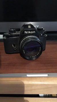 Vintage Nikon film camera with lens Oakville, L6H 6S8