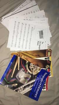 Trumpet music book and sheet music bundle Floyds Knobs, 47119