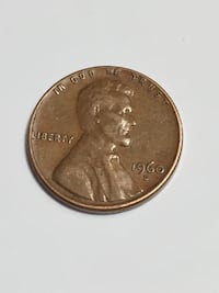 1960 D Penny Large Date Chantilly, 20151