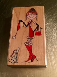 """BRAND NEW WRAPPED Penny Black """"xmas head to toe!"""" (Discontinued) STAMP • $7 FIRM! Winnipeg"""