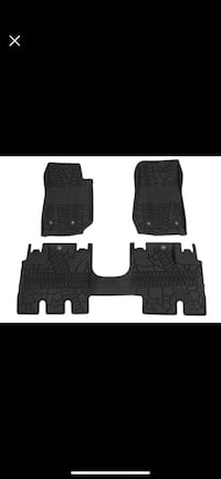 Mopar slush all weather mats with Jeep logo m Fulton, 13069