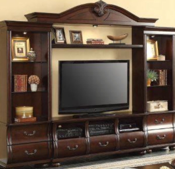 Entertainment Center Set 1858 Tv Stand Only 738