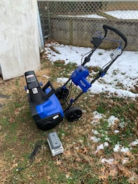 Snow blower light and rechargeable Falls Church