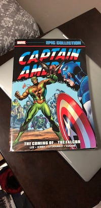 CAPTAIN AMERICA EPIC COLLECTION Book THE COMING  OF THE FALCON Chicago, 60647