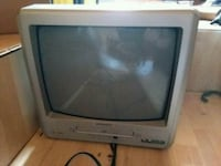 gray CRT television with remote Ocoee, 37361