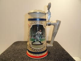 Legends of Baseball by The Bradford Museum Signature Series Steins - 1993, 1994, and 1995