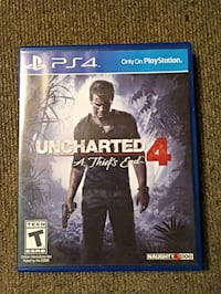 Uncharted 4 Ps4 Knoxville, 37917