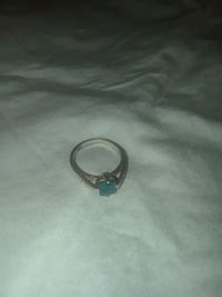 Sterling silver and blue gem stone ring Murfreesboro, 37130
