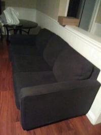Very nice blue COUCH & LOVESEAT